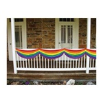 5ft Rainbow Fabric Bunting