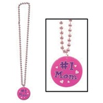 33 inch #1 Mom Medallion Beads
