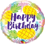 Birthday Pineapples Balloon