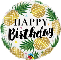 Birthday Golden Pineapples