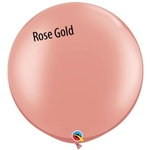 ROSE GOLD Latex Balloon