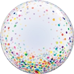 Deco Bubble Colorful Confetti Dots