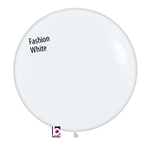 24 inch Fashion WHITE Latex Balloon