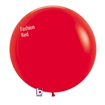 24 inch Fashion RED Latex Balloon