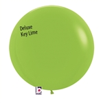 24 inch Deluxe KEY LIME Balloon
