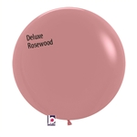 24 inch Deluxe ROSEWOOD Balloon