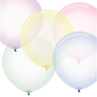 Crystal Pastel Assorted Latex