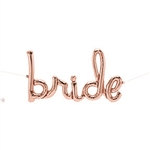 33 inch Script BRIDE Northstar ROSE GOLD