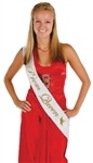 33in x 4in Prom Queen Satin Sash