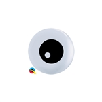 5 inch Qualatex Friendly Eyeball Top Print, Price Per Bag of 100
