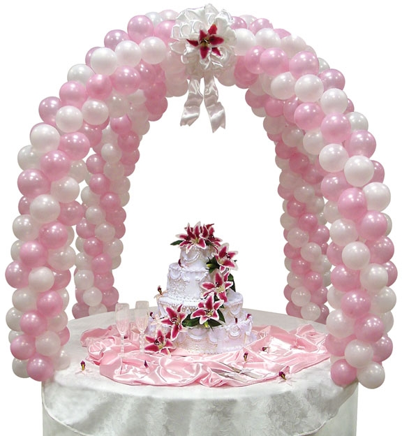 Table decor balloon arch kit for Balloon arch decoration kit