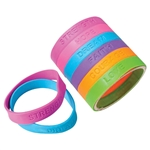 Silicone Bracelets with Sayings