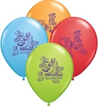 11 inch Qualatex Teenage Mutant NINJA Turtle latex balloons