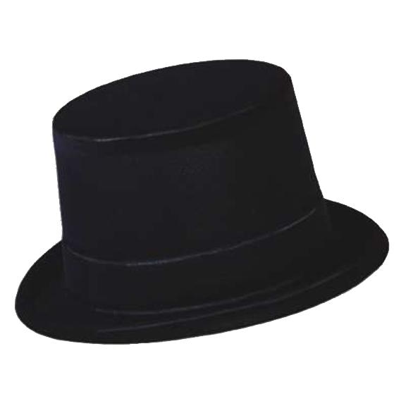 64cb7249d3734 Full size Black Velour Top Hat