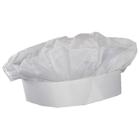 Full size White Paper Chef Hat