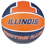 9.5 inch Regulation Illinois Basketball