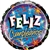18 inch Feliz Cumpleanos Estrellas Brilliantes - Birthday Brilliant Stars