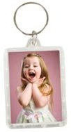 1.5in x 2in Photo Key Chain