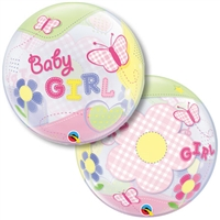 22 inch Baby GIRL Butterfly BUBBLES (PKG), Price Per EACH