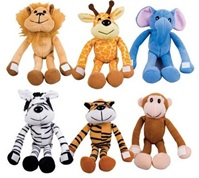 Hug Me Zoo Animal Plush