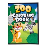 8in x 11in Zoo Animal Coloring Book