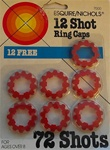 12 Shot Ring Caps Package of 7
