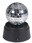4 inch Mirrored Ball on Motorized Base