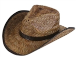 Coco Roll up Straw Cowboy Hat