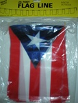 Puerto Rico Flag Pennants