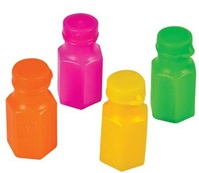 Neon Bubble Bottles