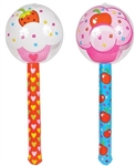 36 inch Cupcake Lollipop Wand Inflate