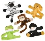 3.5in Plush Animal Magnets