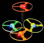 5 inch Light-Up Flying Disc with Launcher