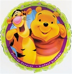 18 inch Disney TIGGER & POOH Friends Forever
