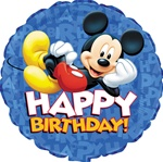 18 inch Disney Mickey Mouse Happy Birthday
