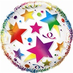 24 inch Crystal Clear Celebration Stars