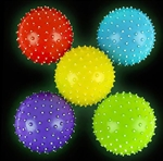 5 inch Glow In The Dark Knobby Ball