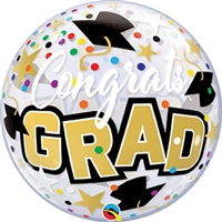Congrats Grad Bubble Balloon