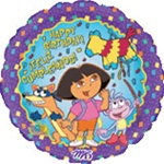 18 inch Dora the Explorer Happy Birthday