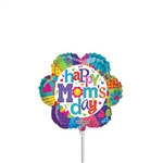 Happy Mom's Day Flower Balloon
