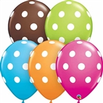 11 inch BIG Polka Dots EXTRA SPECIAL Assortment