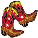 36 inch  Dancing Boots foil balloon