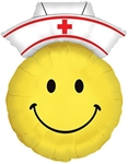 28 inch Smiley Nurse foil balloon