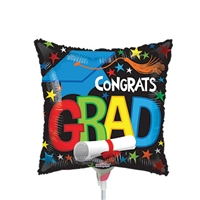Grad Elements Foil Balloon
