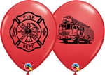 Fire Dept. Latex Balloons