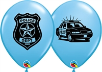 Police Dept. Latex Balloons
