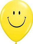 11 inch Qualatex Smiley Face YELLOW