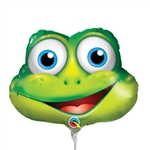Funny Frog Mini ShapeBalloon