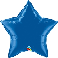 20 inch Star Qualatex Foil DARK BLUE, Price Per EACH, Minimum Order 5