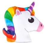 5 inch Plush Unicorn Head